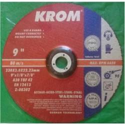 """Disco de Corte Metal 9""""x 3.0mm"""